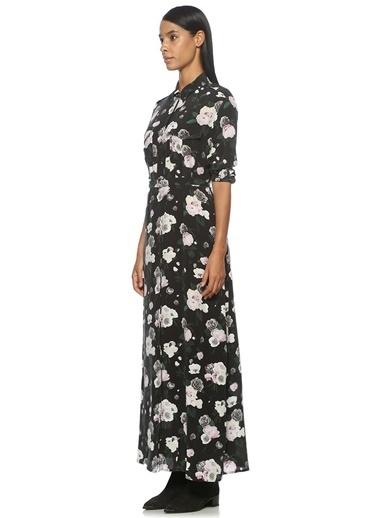 Desenli Uzun Gömlek Elbise-Equipment